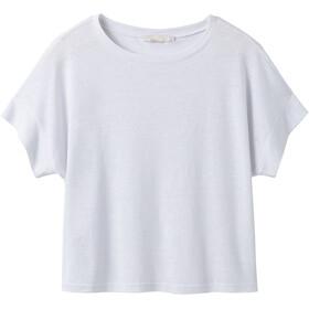 Prana Vosky Koszulka z krótkim rękawem Kobiety, white